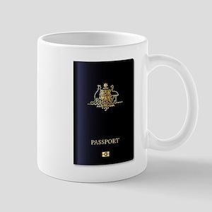 Australian Passport Mugs