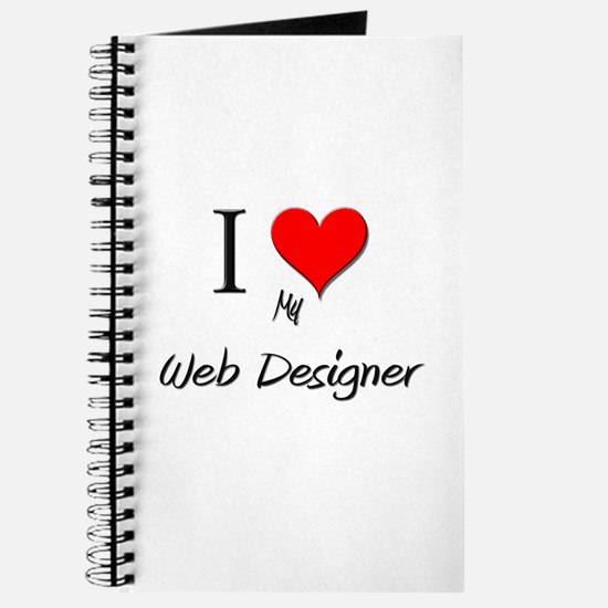 I Love My Web Designer Journal