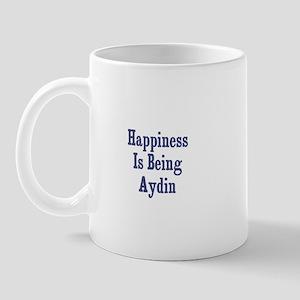 Happiness is being Aydin Mug