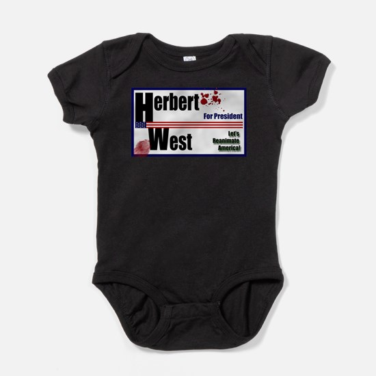 Herbert West reanimator president Infant Bodysuit