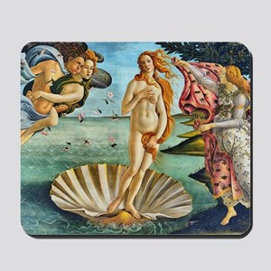 The Birth of Venus - Botticelli Mousepad