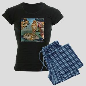 The Birth of Venus - Botticelli Pajamas