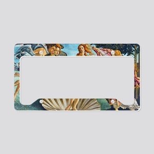 The Birth of Venus - Botticelli License Plate Hold