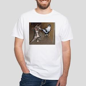 Funny Kung Fu Kitty T-Shirt