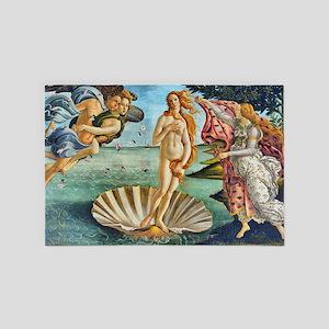 The Birth of Venus - Botticelli 4' x 6' Rug