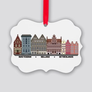Amsterdam Holland Ornament