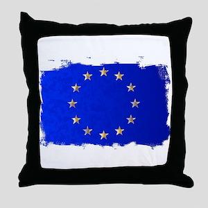 EU Flag Throw Pillow