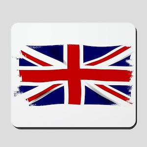 Union Jack Grunge Mousepad