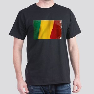 Mali Flag Grunge T-Shirt