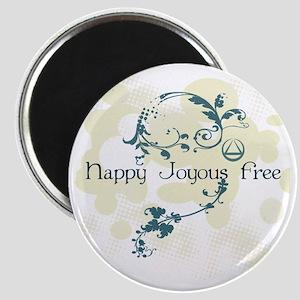 Happy Joyous Free! Magnets
