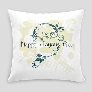 happy3 Everyday Pillow