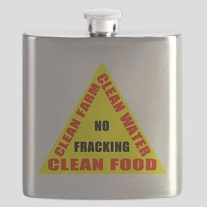 No Fracking Clean Farm Clean Water Clean Food (T)