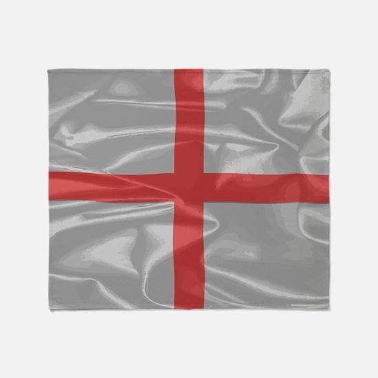 Cool Flag of england Throw Blanket
