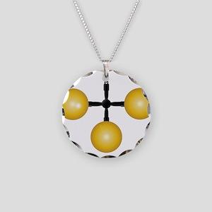 Pawnshop Balls Sign Necklace Circle Charm