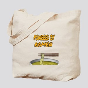 POWERED BY RAMEN Tote Bag