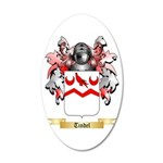 Tindel 20x12 Oval Wall Decal