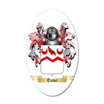 Tindel 35x21 Oval Wall Decal