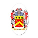 Tinan Oval Car Magnet