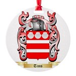 Tims Round Ornament