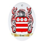 Tims Oval Ornament