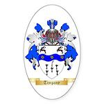 Timpany Sticker (Oval 10 pk)