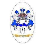 Timpany Sticker (Oval 50 pk)