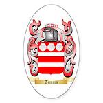 Timms Sticker (Oval 10 pk)