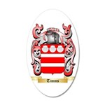 Timms 20x12 Oval Wall Decal