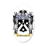 Timmons Oval Car Magnet