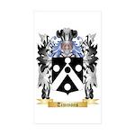 Timmons Sticker (Rectangle 50 pk)