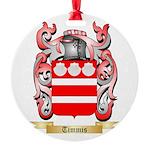 Timmis Round Ornament