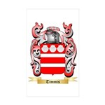 Timmis Sticker (Rectangle 50 pk)