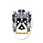 Timmins Oval Car Magnet