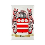 Times Rectangle Magnet (100 pack)