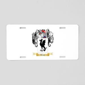 Tilney Aluminum License Plate