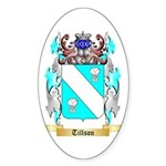 Tillson Sticker (Oval 10 pk)