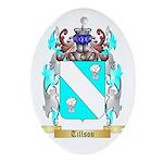 Tillson Oval Ornament