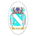 Tills Sticker (Oval 50 pk)