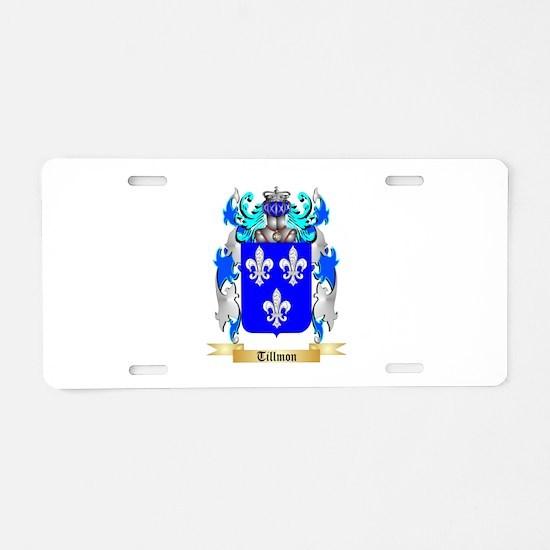 Tillmon Aluminum License Plate