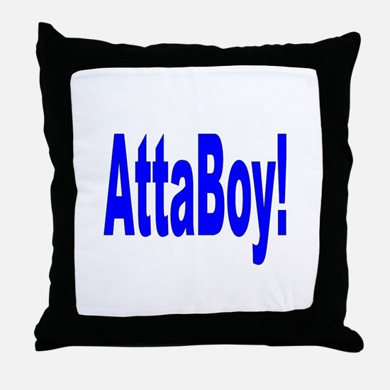 AttaBoy Store Throw Pillow