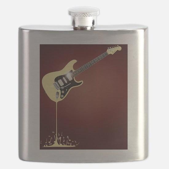 Cute Copy space Flask
