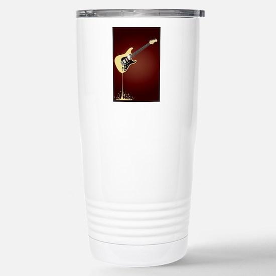 Fluid Guitar Stainless Steel Travel Mug