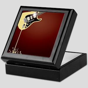 Fluid Guitar Keepsake Box