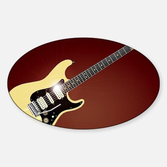 Fluid Guitar Decal