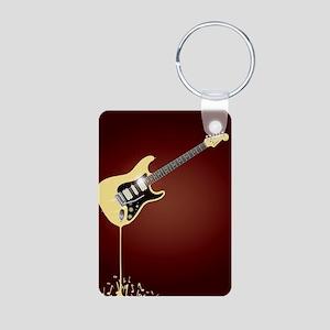 Fluid Guitar Keychains