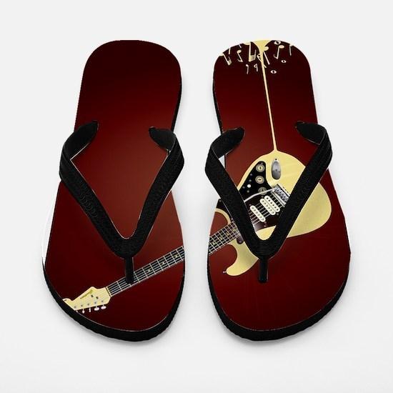 Fluid Guitar Flip Flops