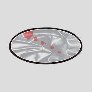 Valentine Silk Card Patch