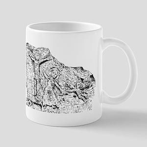 Aghadoe Church Stone Mug