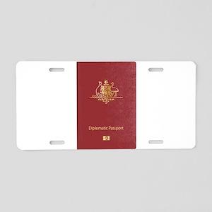 Australian Diplomatic Passp Aluminum License Plate