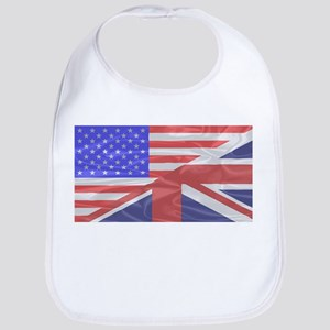 Union Jack and Stars and Stripes Bib